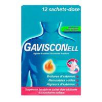 Gavisconell Suspension Buvable Sachet-dose Menthe Sans Sucre 12sach/10ml à JUAN-LES-PINS