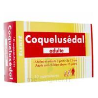 Coquelusedal Adultes, Suppositoire à JUAN-LES-PINS