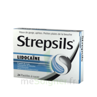 Strepsils Lidocaïne Pastilles Plq/24 à JUAN-LES-PINS
