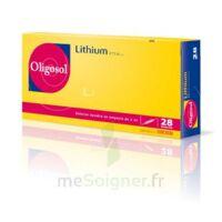 Oligosol Lithium Solution Buvable En Ampoule Ou En Récipient Unidose 28amp/2ml à JUAN-LES-PINS
