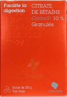 Citrate De Betaïne Cristers 10 % Granulés Sachet/250g à JUAN-LES-PINS
