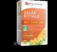 Forte Pharma Gelée Royale Bio 2000 Mg Solution Buvable 20 Ampoules/15ml à JUAN-LES-PINS