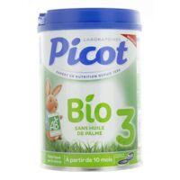 Picot Bio 3 Lait En Poudre 800g à JUAN-LES-PINS