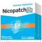 Nicopatchlib 14 Mg/24 H Dispositifs Transdermiques B/28 à JUAN-LES-PINS