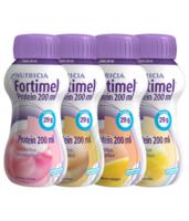 Fortimel Protein Nutriment Multi Saveurs Caramel/vanille/fraise/mangue 4 Bouteilles/200ml à JUAN-LES-PINS