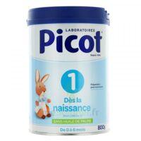 Picot Standard 1 Lait Poudre B/800g à JUAN-LES-PINS