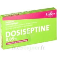 Dosiseptine 0,05 % S Appl Cut En Récipient Unidose 10unid/5ml à JUAN-LES-PINS