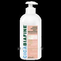 Cicabiafine Crème Douche Anti-irritations Bouteille Fl Pompe/400ml à JUAN-LES-PINS
