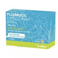 Fluimucil Expectorant Acetylcysteine 600 Mg Glé S Buv Adultes 10sach à JUAN-LES-PINS