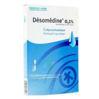 Desomedine 0,1 % Collyre Sol 10fl/0,6ml à JUAN-LES-PINS
