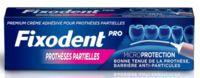 Fixodent Pro Crème Adhésive Pour Prothèse Partielle T/40g à JUAN-LES-PINS