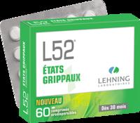 Lehning L52 Comprimés Orodispersibles Plq Pvc/pvdc/alu/60 à JUAN-LES-PINS