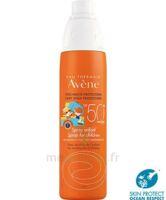 Avène Eau Thermale Solaire Spray Enfant 50+ 200ml à JUAN-LES-PINS