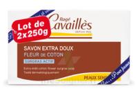 Rogé Cavaillès Savon Solide Surgras Extra Doux Fleur De Coton 2x250g à JUAN-LES-PINS
