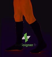 Dynaven Fin Chaussettes  Homme Classe 2 Noir Small Long à JUAN-LES-PINS