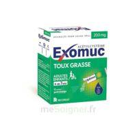 Exomuc 200 Mg, Granulés Pour Usage Oral En Sachet 15 Sachets/2g à JUAN-LES-PINS