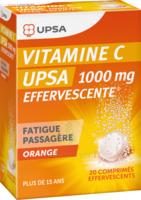 Vitamine C Upsa Effervescente 1000 Mg, Comprimé Effervescent à JUAN-LES-PINS