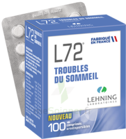 Lehning L72 Comprimés Orodispersibles Plq Pvc/pvdc/alu/100 à JUAN-LES-PINS