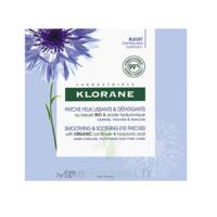 Klorane Bleuet Bio Patchs Défatigants Express 7x2 Patchs à JUAN-LES-PINS