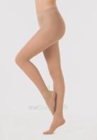 Dynaven Transparent Collant  Femme Classe 2 Beige Clair Small Normal